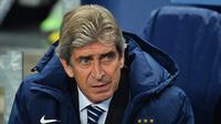Manajer Manchester City Manuel Pellegrini