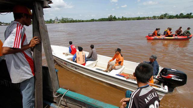 Pagi tadi tim SAR berhasil menemukan seluruh korban kapal Ferry yang tenggelam di sungai Kapuas, Kalimantan Tengah.