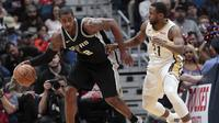 Spurs harus akui keunggulan New Orleans Pelicans   (AP Photo/Scott Threlkeld)
