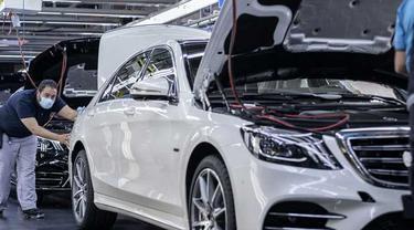 Kelangkaan microchip belum menggangu performa dari Mercedes-Benz Indonesia