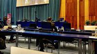 Indonesia serukan agar dunia tidak lengah terhadap ancaman kejahatan lintas negara terorganisir meskipun di tengah keadaan penuh tantangan akibat pandemi COVID-19 (Dokumentasi konvensi PBB di WINA).