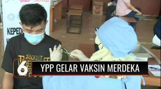 VIDEO: Polsek Ciputat Timur dan YPP Gelar Vaksinasi Merdeka Dua di Kampus ITB