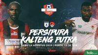 Shopee Liga 1 - Persipura Jayapura Vs Kalteng Putra Head to Head (Bola.com/Adreanus Titus)
