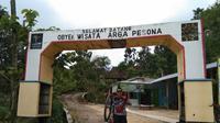 Arga Pesona merupakan salah satu destinasi wisata hits yang berada di pegunungan Kendeng, tepatnya di Desa Beketel, Kecamatan Kayen, Kabupaten Pati, Jawa Tengah. (Liputan6.com/ Ahmad Adirin)