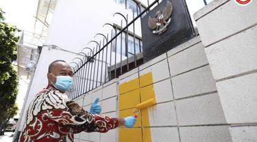 Perkenalkan Indonesia di Los Angeles, KJRI Los Angeles Gunakan Mural
