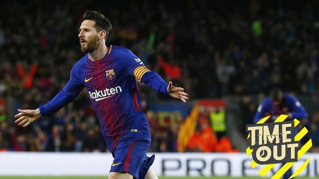 Berita video Time Out yang membahas tentang rekor yang mungkin akan dipecahkan oleh Lionel Messi pada tahun 2019.