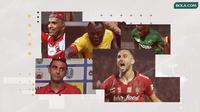 Trivia - Sebaran Pemain Naturalisasi di Liga 1 (Bola.com/Adreanus Titus)