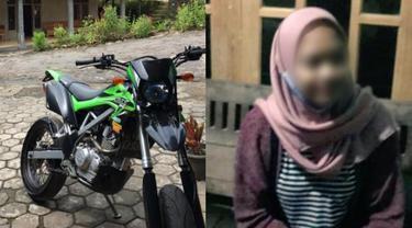 Viral Kasus Pria Bawa Kabur Motor, Tinggalkan Pacar Bersama Korban
