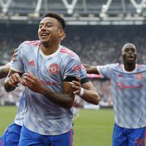 Jesse Lingard mencetak gol kemenangan MU atas West Ham di Liga Inggris (AFP)