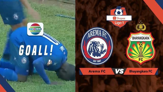 Berita Video Gol Berkelas Makan Konate Membawa Arema FC Unggul 3-0 atas Bhayangkara FC