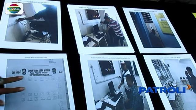 Polrestabes Surabaya mengamankan dua guru honorer yang curi soal UNBK tingkat SMP.