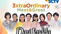 Dari Jendela SMP 3xtraOrdinary Meet & Greet secara virtual, Sabtu (24/10/2020) pukul 16.00 WIB dengan pemirsa di Surabaya dan sekitarnya, live streaming di Vidio