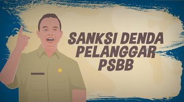 Gubernur DKI, Anies Baswedan terbitkan Pergub 41 tahun 2020 tentang sanksi pelanggaran Pembatasan Sosial Berskala Besar (PSBB).