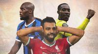 Ilustrasi - Romelu Lukaku, Mohamed Salah, Daniel Sturridge (Bola.com/Adreanus Titus)