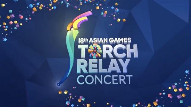 Berita video kirab obor Asian Games 2018 di Indosiar dan TVRI.