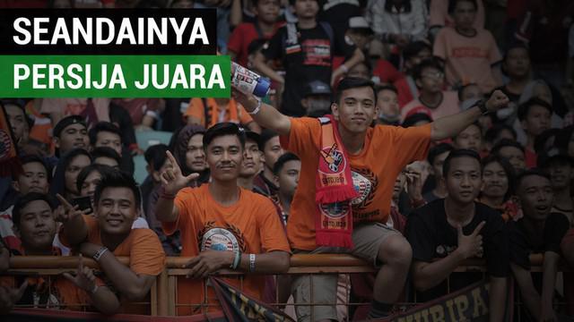 Berita video nazar beberapa Jakmania bila Persija Jakarta menjadi juara Gojek Liga 1 2018 bersama Bukalapak.