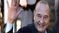 Mantan Presiden Prancis Jacques Chirac meninggal dunia. (AFP)