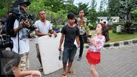 Velove Putri Meyer berperan sebagai Tasya dalam Serial Elif Indonesia. (Liputan6.com/Gempur M Surya)