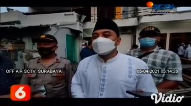 Selama bulan suci Ramadhan umat Muslim di Kota Surabaya bisa menjalankan ibadah salat tarawih berjamaah. Untuk memastikan kesiapan setiap masjid maupun musala dalam menjalankan protokol kesehatan sesuai prosedur, pemkot menggelar pertemuan dengan tak...
