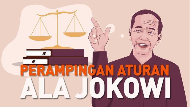Saat pelantikan 20 Oktober 2019 lalu, presiden Jokowi menyatakan ingin membuat omnibus law.