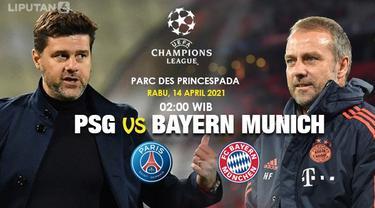 PSG vs Bayern Munchen - Liga Champions