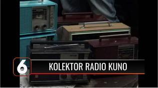 VIDEO: Sutrisno, Pensiunan Polisi Klaten yang Hobi Koleksi Radio Kuno hingga Berjumlah 300 Buah