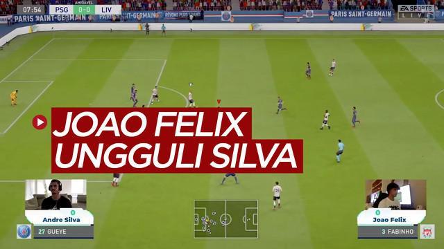 Berita Video Joao Felix Bantai Andre Silva di Partai Amal E-Sports FIFA 20