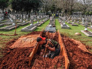 Pemakaman Almarhumah Ani Yudhoyono di TMP Kalibata