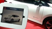 Mobil listrik Nissan Lead di Nissan Futures ke-4 (Arief/Liputan6.com)