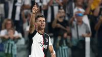 Bintang Juventus Cristiano Ronaldo. (AFP/Isabella Bonotto)