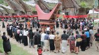 Rambu Solo, ritual kematian dalam masyarakat adat Tana Toraja. (dok. Istimewa/Liputan6.com)
