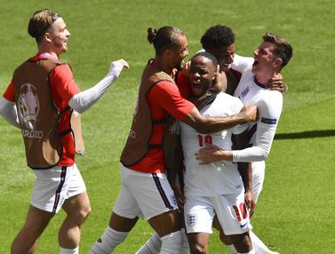 Gol Raheem Sterling Menangkan Inggris Atas Kroasia