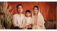 Potret Manis Keluarga Kecil Gibran Rakabuming Saat Berbusana Muslim (sumber:Instagram/@dierabachir )