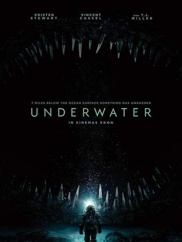 Poster film Underwater. (Foto: IMDb/ 20th Century Fox)