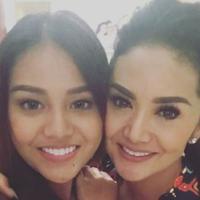 Aurel Hermansyah dan Krisdayanti (Instagram/@krisdayantilemos)
