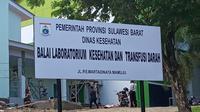 Balai Laboratorium Kesehatan dan Transfusi Darah Dinas Kesehatan Sulawesi Barat (Foto: Liputan6.com / Dinkes Sulbar)