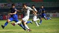 Timnas Thailand U-19 menyerah 1-3 dari Jepang dalam pertandingan kedua Grup B Piala AFC U-19 di Stadion Pakansari, Senin (22/10/2018). (dok. AFC)