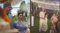 Momen perayaan ulang tahun pernikahan Anggun C Sasmi dan suami. (Instagram/anggun_cipta)