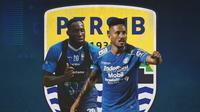 Persib Bandung - Geoffrey Castillion dan Wander Luiz (Bola.com/Adreanus Titus)