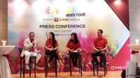 Ajang lari The Color Run akan digelar CIMB Niaga pada Minggu, 16 September 2018 di Gelora Bung Karno (GBK) Jakarta. (Foto: Liputan6.com/Fitri Haryanti Harsono)