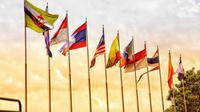 Ilustrasi bendera negara anggota ASEAN. (Gambar oleh Thuận Tiện Nguyễn dari Pixabay )
