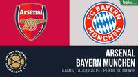 ICC 2019 - Arsenal Vs Bayern Munchen (Bola.com/Adreanus Titus)