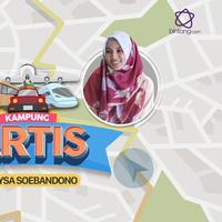 Saat mudik, ada beberapa tempat yang harus dikunjungi Alyssa di kampung halaman, Malang.