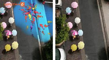 Lukisan yang dibuat oleh para remaja Korea Selatan ini, membuat anda kagum karena keunikannya.
