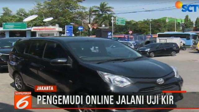 Uji KIR yang dilakukan termasuk dalam rangka menertibkan kendaraan transportasi umum berbasis online.