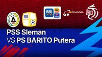 BRI Liga 1 Jumat, 15 Oktober 2021 : PSS Sleman vs PS Barito