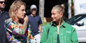 Hailey Baldwin bersemangat menikahi Justin Bieber dalam sebuah wawancara. (SHOTBYJULIAN / SPLASHNEWS.COM / HollywoodLife)