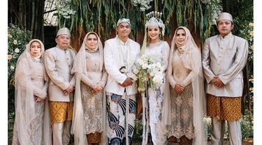 7 Momen Pernikahan Alfath Fathier dan Nadia Christina, Penuh Kebahagiaan