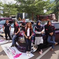 Salurkan hobi modifikasi mobil, perempuan-perempuan ini bentuk Ladies Car Community. (Fimela.com/Daniel Kampua)