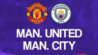 Liga Inggris: Manchester United Vs Manchester City. (Bola.com/Dody Iryawan)